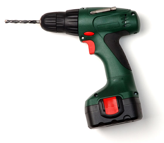green cordless drill